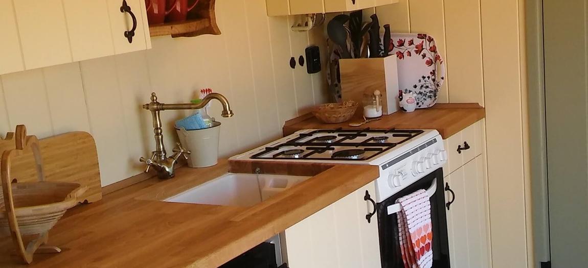 Oak's kitchen