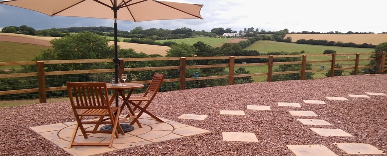 Al fresco with a view at Holly Water Holidays